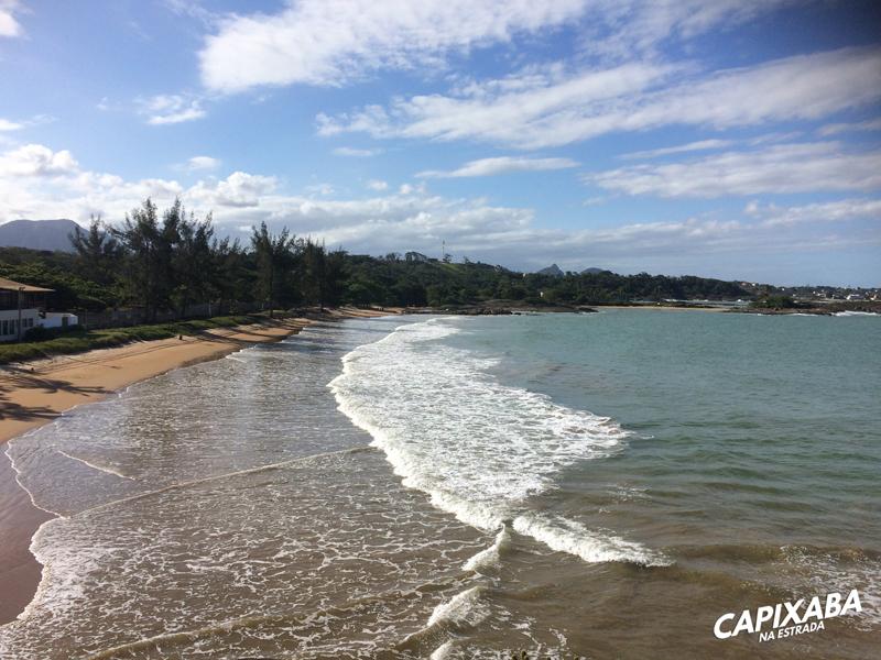Praia dos adventistas Guarapari