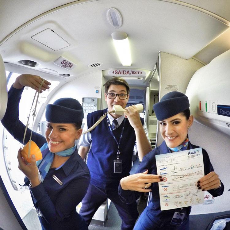Vida de Comissário de voo