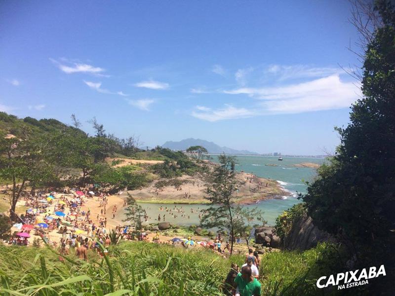 Praia secreta, Vila Velha
