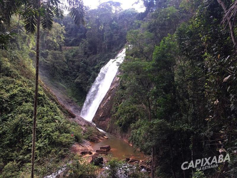Cachoeira Véu de Noiva Santa Leopoldina