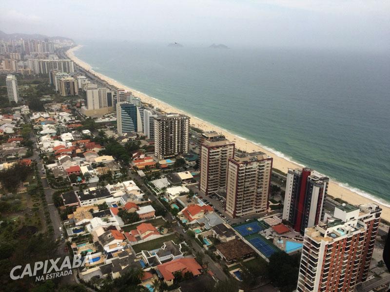 Voo de helicóptero no Rio de Janeiro