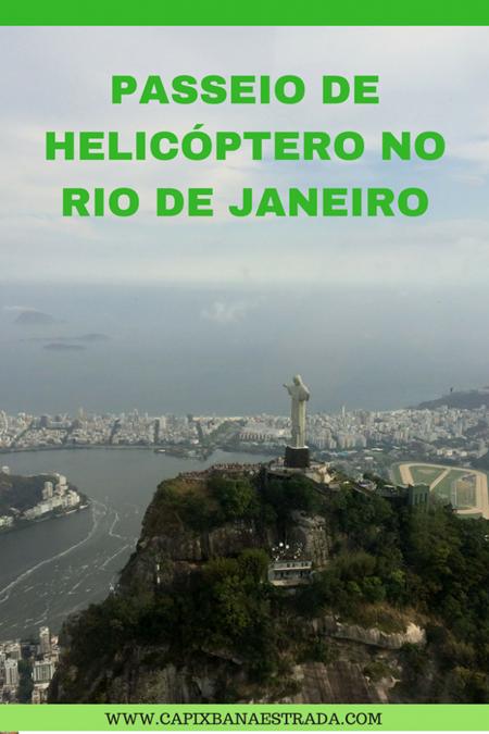 passeio de helicopeto no rio de janeiro