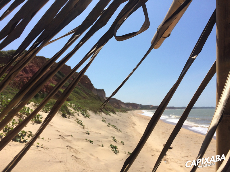 praia das falésias, Marataízes - melhores praias do Espírito Santo