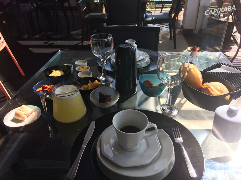 onde se hospedar em Guarapari : Orquídea café