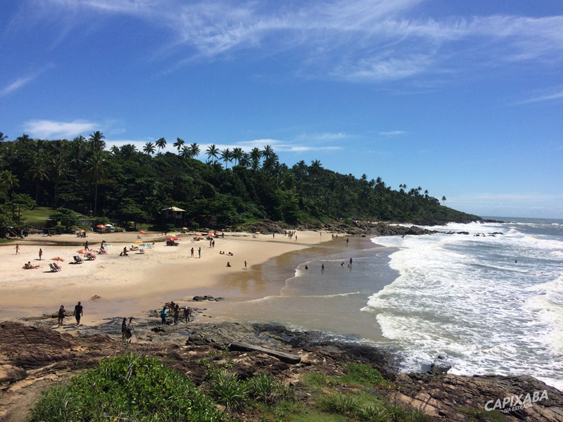 praia da tiririca - o que fazer em itacaré