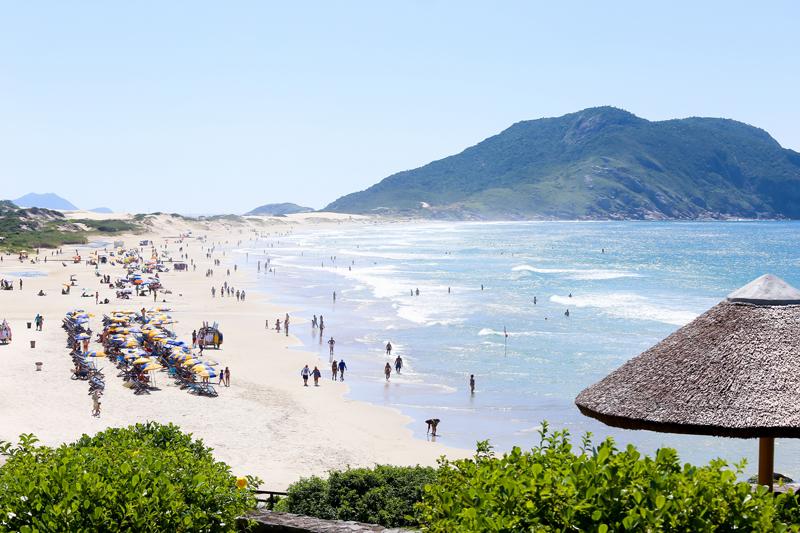 praias para passar o réveillon no Brasil - Florianópolis