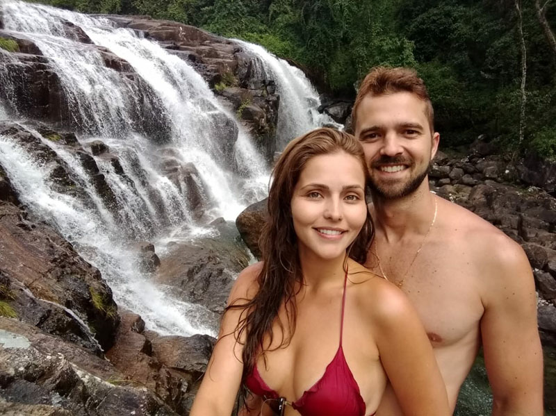 o que fazer no caparaó - cachoeira do rogério