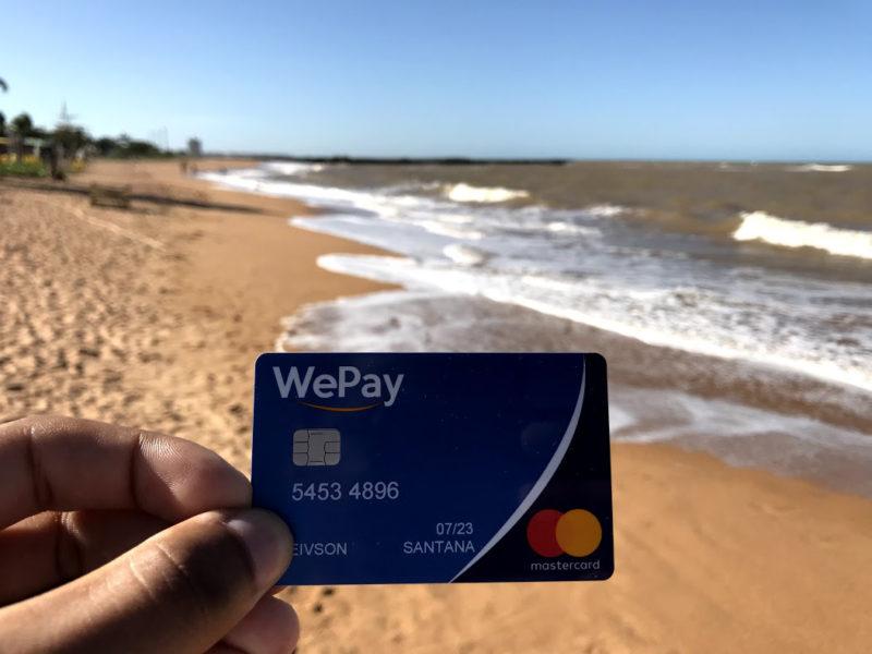Cartão pré-pago WePay