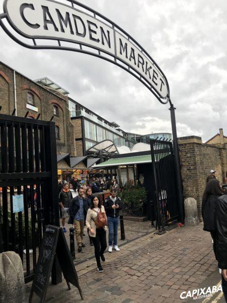Roteiro de 3 dias em Londres - Camden Town