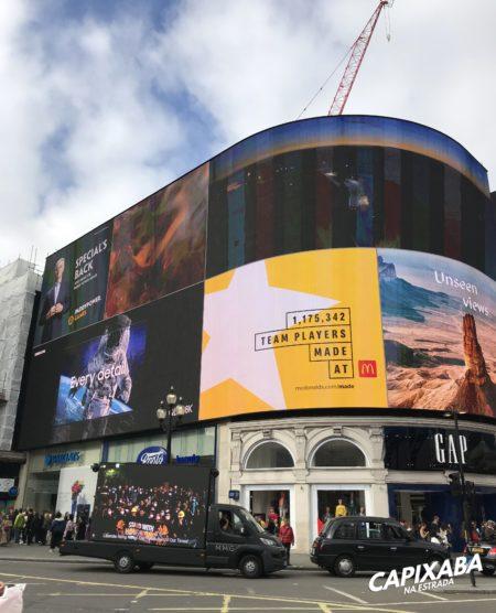 Roteiro de 3 dias em Londres - Piccadilly circus