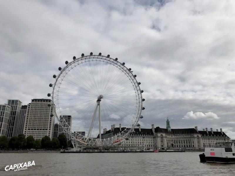 roteiro de 3 dias em Londres - London Eye