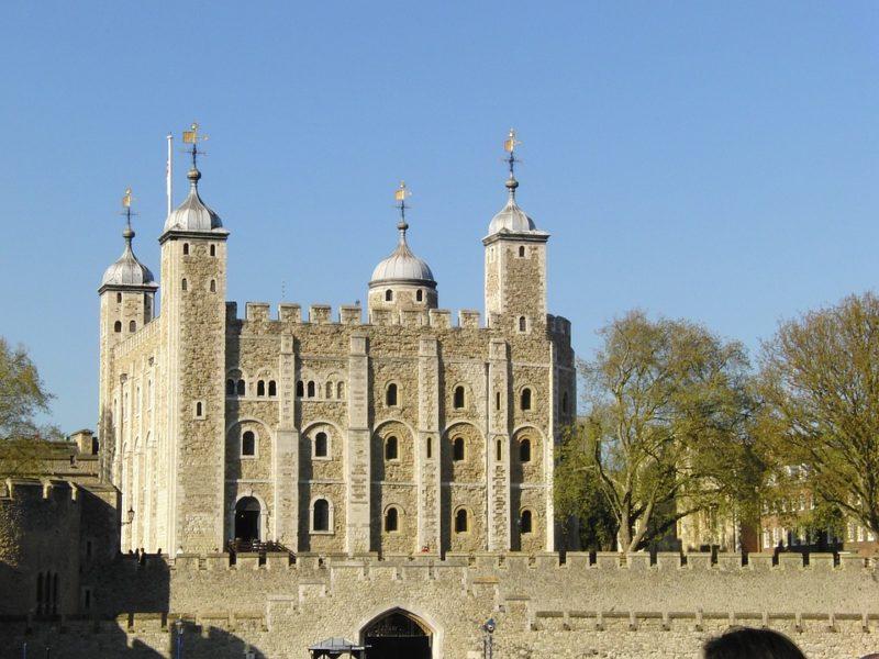roteiro de 3 dias em Londres - Torre de londres