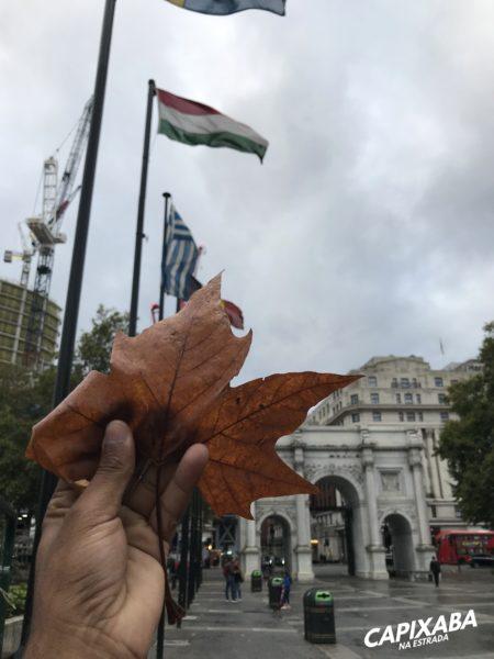 roteiro de 3 dias em Londres - marble arch